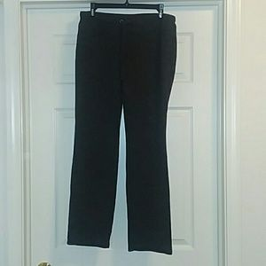 Dark gray heathered lounge pants